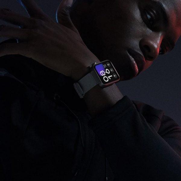 خرید ساعت شیائومی از علی اکسپرس Original Xiaomi Smart Mi Watch GPS NFC WIFI ESIM Phone Call Bracelet Android Wristwatch Sport Bluetooth Heart Rate Monitor