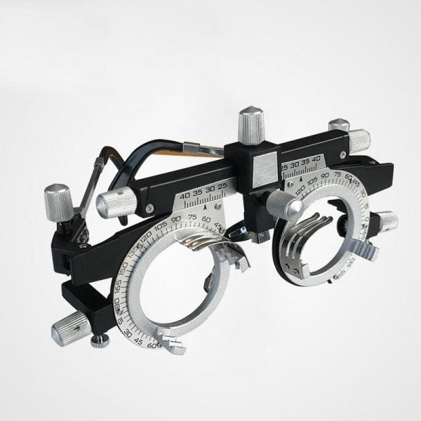 PD 48-80mm Optometry Optician Adjustable Trial Frame Optical Trial Lens Frame Test PD Eyeglasses Accessories