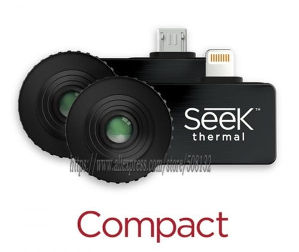 Seek Thermal Imaging Camera Infrared Imager Night Vision Compact PRO/XR Android/TYPE-C/USB-C plug/IOS Version 320*240/206*156