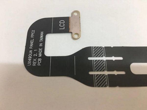 "خرید فلت 14"" LCD screen Cable for Asus ZenBook 3 Deluxe UX490 UX490UA UX490UAR Panel FPC2 T64275W3 1708 Connector Video Cable"