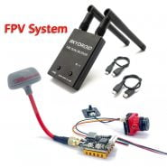 5.8G FPV Receiver UVC Video Downlink OTG VR Android Phone with 5.8G 600mW Switchable fpv Transmitter and CMOS 1200TVL fpv Camera