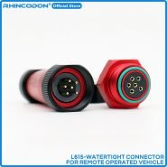 6 Core Deep Water Waterproof High Current Watertight Electrical Connector Core Withstand 12A For ROV Submarine RC Boat surfboard
