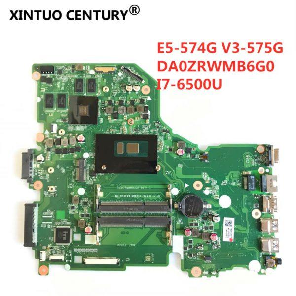 خرید مادربرد لپ تاپ DA0ZRWMB6G0 REV:G E5-574G mainboard For Acer Aspire E5-574 E5-574G F5-572 V3-575 V3-575G Motherboard I7-6500U 100% Test original