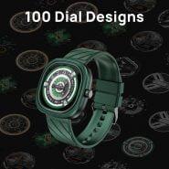 خرید ساعت هوشمند دوجی DOOGEE DG Ares Fashion Punk Design Clock Watches 1.32″retina level Round Screen 300mAh Battery