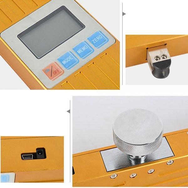 Elevator Rope Tensionmeter used to test the tension and traction of elevator traction wire rope DGZ-Y-5000 bridge sling