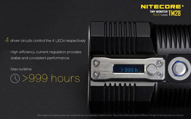 Nitecore TM28 6000 Lumens Flashlight (14)