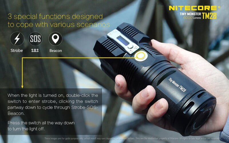Nitecore TM28 6000 Lumens Flashlight (17)