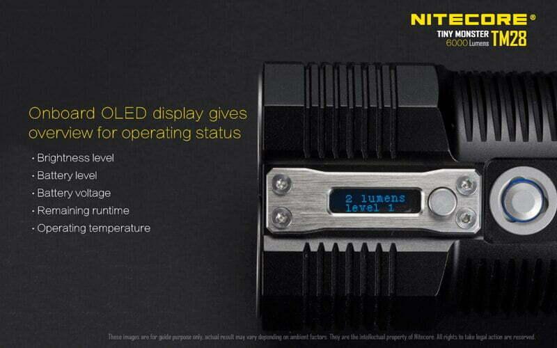 Nitecore TM28 6000 Lumens Flashlight (13)