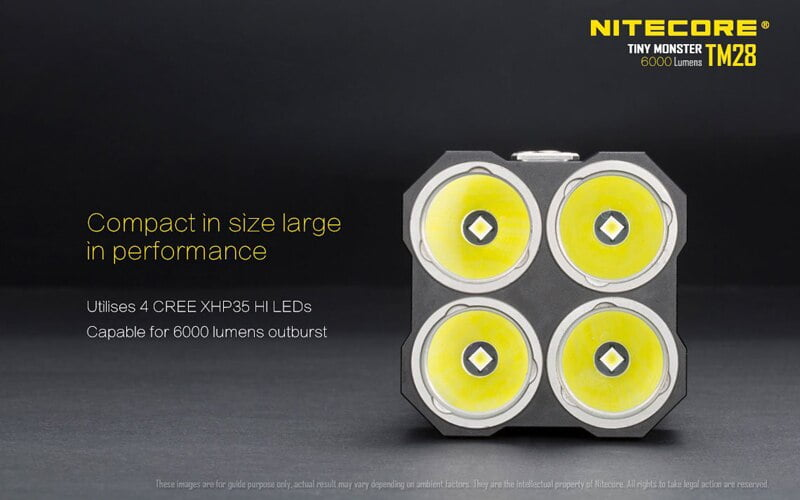 Nitecore TM28 6000 Lumens Flashlight (8)