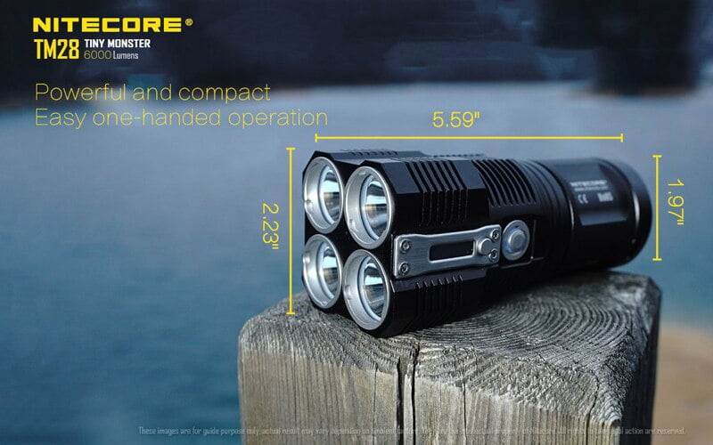 Nitecore TM28 6000 Lumens Flashlight (11)