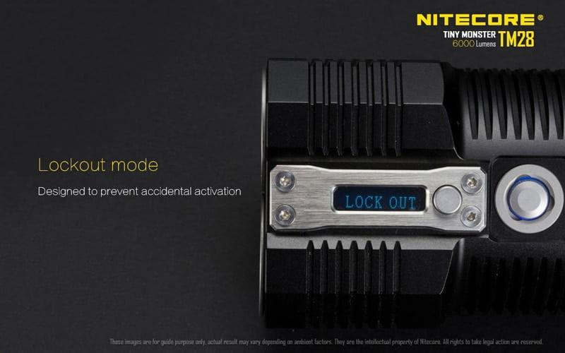 Nitecore TM28 6000 Lumens Flashlight (18)