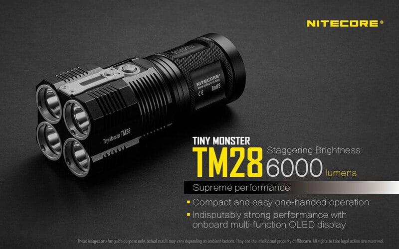 Nitecore TM28 6000 Lumens Flashlight (7)