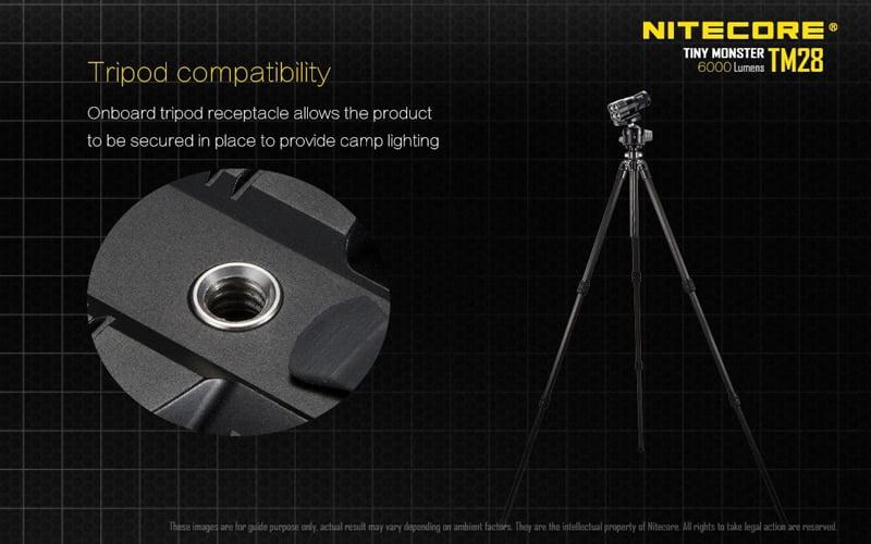 Nitecore TM28 6000 Lumens Flashlight (25)