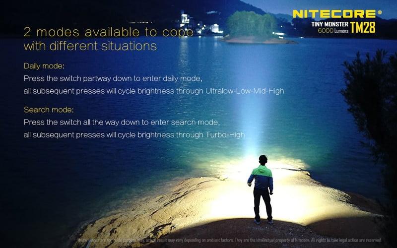 Nitecore TM28 6000 Lumens Flashlight (16)