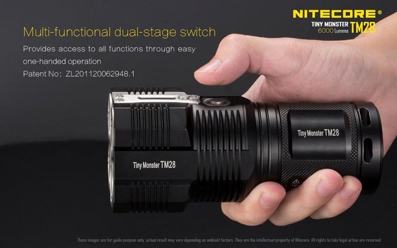 Nitecore TM28 6000 Lumens Flashlight (15)