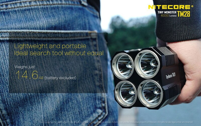 Nitecore TM28 6000 Lumens Flashlight (12)