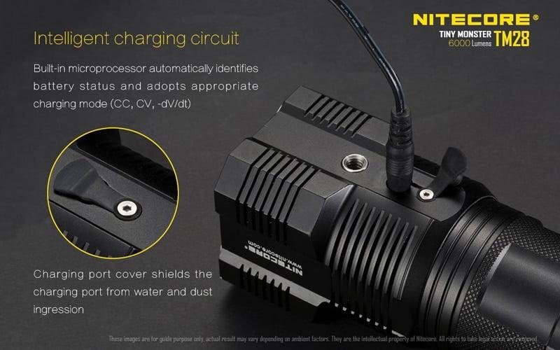 Nitecore TM28 6000 Lumens Flashlight (20)