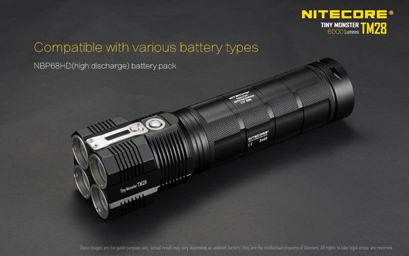 Nitecore TM28 6000 Lumens Flashlight (23)