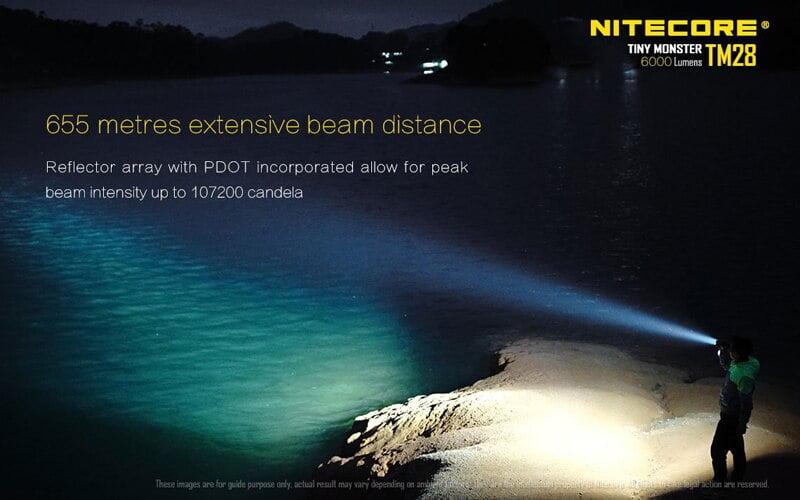 Nitecore TM28 6000 Lumens Flashlight (10)