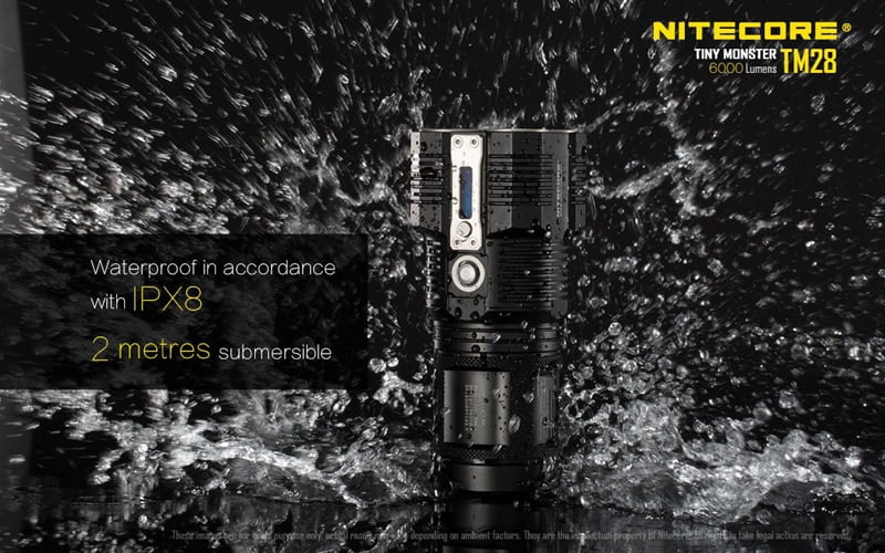 Nitecore TM28 6000 Lumens Flashlight (27)