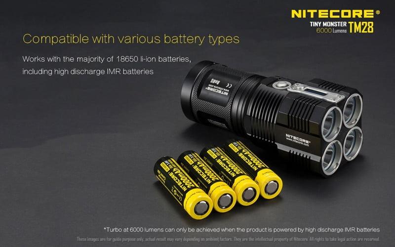 Nitecore TM28 6000 Lumens Flashlight (22)