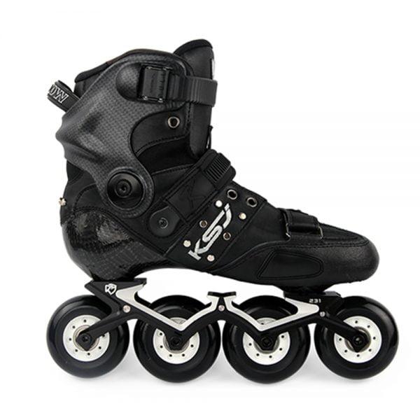 Japy Original SEBA KSJ Shadow Professional Slalom Inline Skates Carbon Fiber Roller Skating Shoes Sliding Free Skating Patines