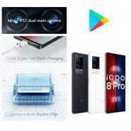 خرید گوشی ویوو از چین NEW Original vivo iQOO 8 Pro 5 GSnapdragon 888 Plus Smartphone 120W Fast Charging AMOLED 120HZ Google Play Gaming phone NFC 50MP