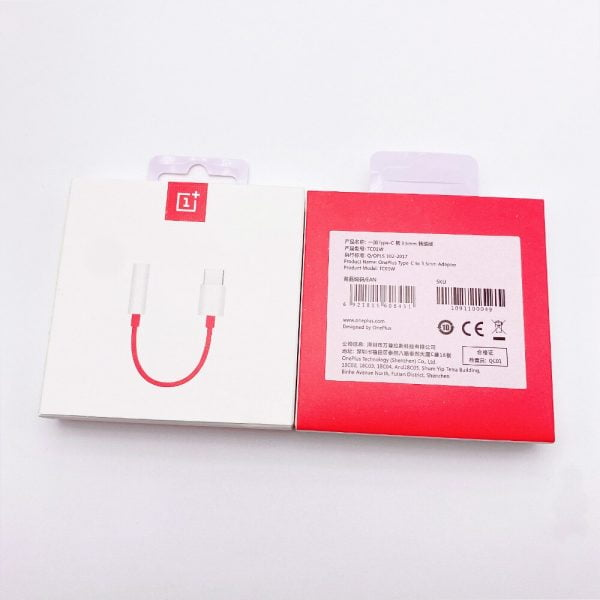 Original Oneplus Earphone Jack Adapter Type-C To 3.5mm Headphone Converter Cable For One Plus 8 9 8Pro 8T 7 7pro 7T 6T