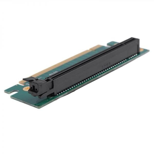 PCI-E Express 16X 90 Degree Adapter Riser Card PCI Express for Small 2U Computer Server IPC / Special Chassis