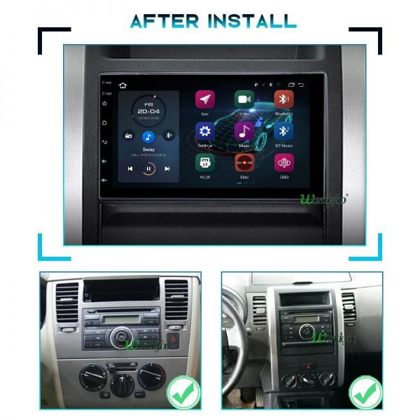 PX6 car intelligent system 2 din radio android 10 screen for Nissan TOYOTA Kia RAV4 VW Hyundai Navigation GPS 2DIN autoradio dvd