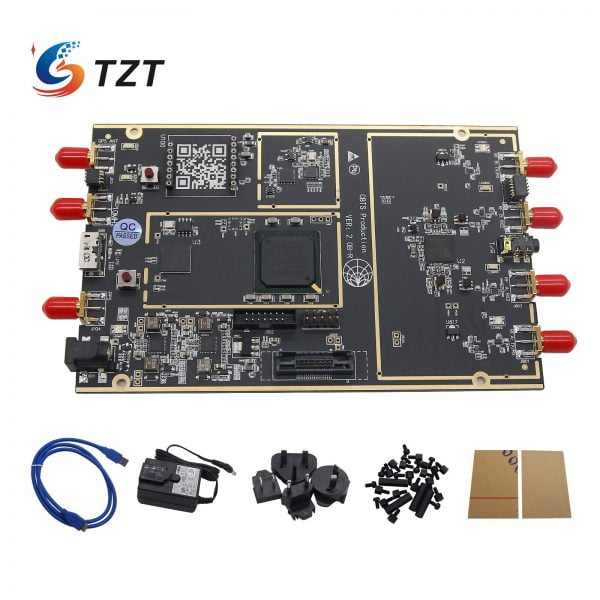 TZT AD9361 RFIC 1.8MHz-6GHz SDR Software Defined Radio 10DBM USB3.0 compatible with USRP B210