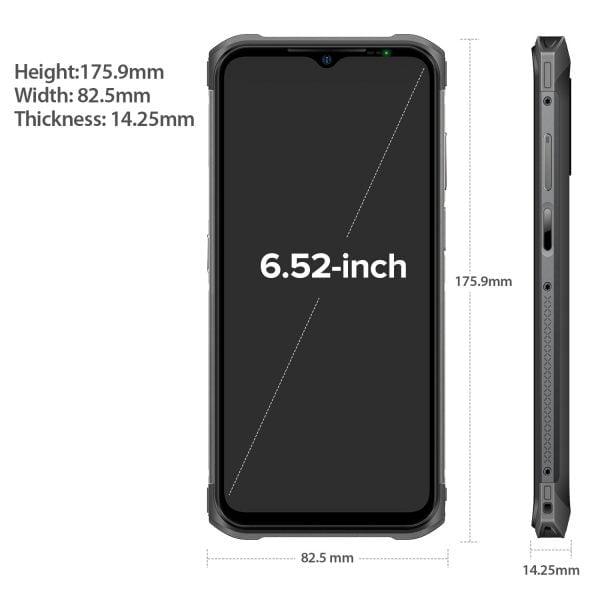 "Ulefone Armor 12 Global Version 5G Waterproof Mobile Phone Android 11 8GB 128GB 6.52""5180 mAh Wireless Charging NFC Rugged Phone"