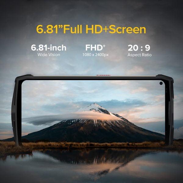 """خرید گوشی یولفون آرمور 13 از چین Ulefone Power Armor 13 13200mAh Rugged Phone 256GB Android 11 Waterproof Smartphone 6.81"""" 2.4G/5G WLAN Mobile"""